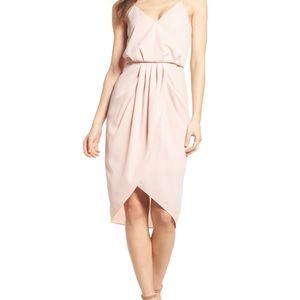 Chelsea28 || Pink Peach Dress